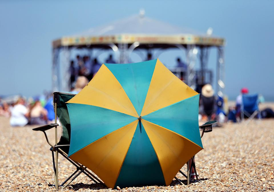 A new study introduces the sun cream 'teaspoon method' to ensure you're applying enough SPF [Photo: PA Images]