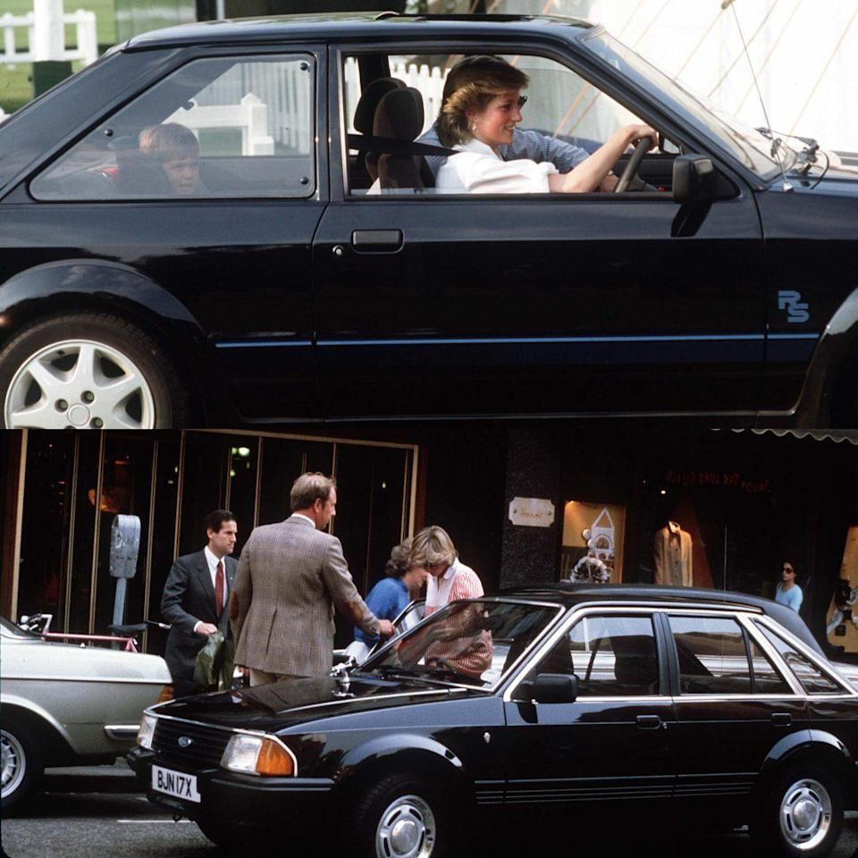 Princess Diana Ford Escort - Getty Images / Rex Features