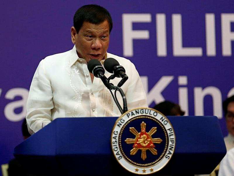 Duterte says that he's busy and may not be able to fit a White House visit into his schedule: Faisal Al Nasser/Reuters