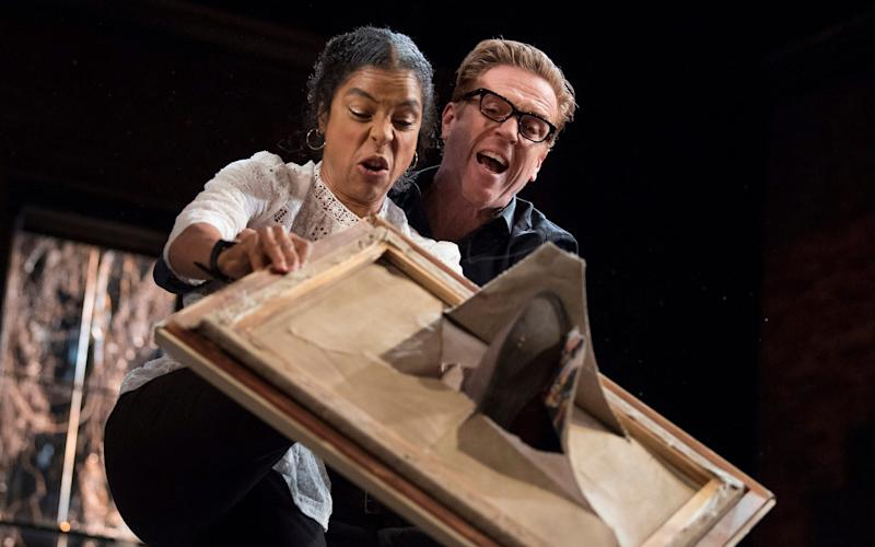 Damian Lewis Sophie Okonedo The Goat - Credit: Alastair Muir