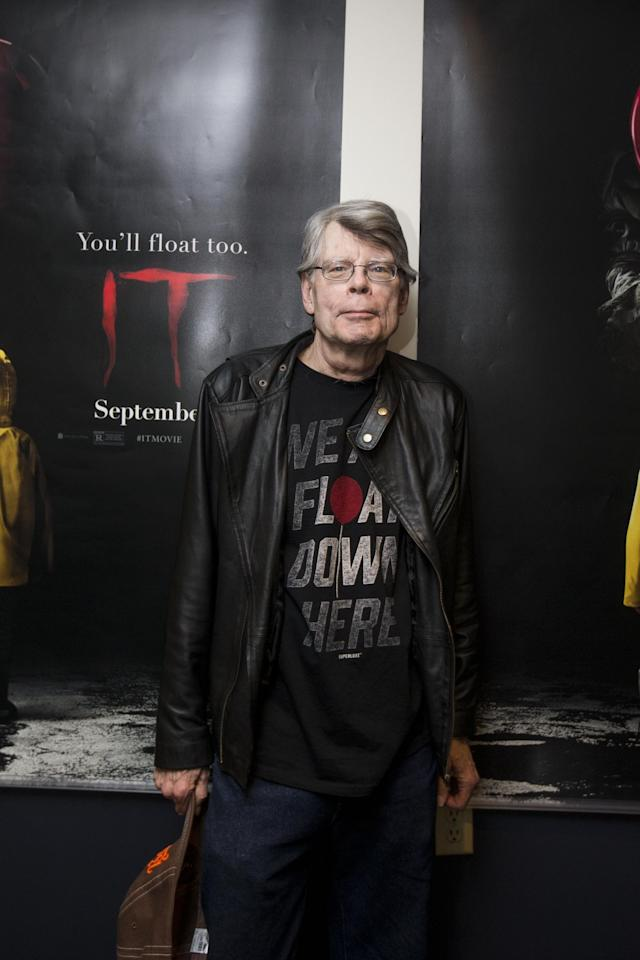 Stephen King attends a special screening of <em>It</em> on Sept. 6, 2017 in Bangor, Maine. (Photo by Scott Eisen/Getty Images for Warner Bros.)