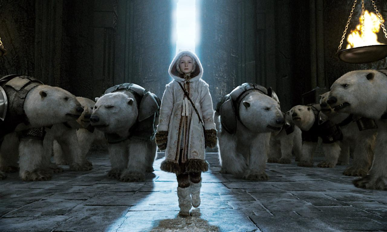 """<p><strong>The Golden Compass</strong> is the first installation of Philip Pullman's His Dark Materials trilogy. It's a story about an orphan named Lyra Belacqua who, like J.K. Rowling's protagonist, lives in a magical parallel universe. In this world, a group called Gobblers take away poor orphan Gyptian children, and Lyra makes it her quest to find the children. The film adaptation stars <a class=""""sugar-inline-link ga-track"""" title=""""Latest photos and news for Nicole Kidman"""" href=""""https://www.popsugar.com/Nicole-Kidman"""" target=""""_blank"""" data-ga-category=""""Related"""" data-ga-label=""""https://www.popsugar.com/Nicole-Kidman"""" data-ga-action=""""&lt;-related-&gt; Links"""">Nicole Kidman</a>, Dakota Blue Richards, and <a class=""""sugar-inline-link ga-track"""" title=""""Latest photos and news for Daniel Craig"""" href=""""https://www.popsugar.com/Daniel-Craig"""" target=""""_blank"""" data-ga-category=""""Related"""" data-ga-label=""""https://www.popsugar.com/Daniel-Craig"""" data-ga-action=""""&lt;-related-&gt; Links"""">Daniel Craig</a>.</p> <p><strong>Where to watch: </strong><a href=""""https://www.popsugar.com/buy?url=http%3A%2F%2Fwww.amazon.com%2FThe-Golden-Compass-Nicole-Kidman%2Fdp%2FB0013TO3HS&p_name=Amazon&retailer=amazon.com&evar1=buzz%3Aus&evar9=44716648&evar98=https%3A%2F%2Fwww.popsugar.com%2Fphoto-gallery%2F44716648%2Fimage%2F44716660%2FGolden-Compass&list1=movies&prop13=api&pdata=1"""" rel=""""nofollow"""" data-shoppable-link=""""1"""" target=""""_blank"""" class=""""ga-track"""" data-ga-category=""""Related"""" data-ga-label=""""http://www.amazon.com/The-Golden-Compass-Nicole-Kidman/dp/B0013TO3HS"""" data-ga-action=""""In-Line Links"""">Amazon</a>, <span class=""""nofilter""""><a href=""""https://itunes.apple.com/us/movie/the-golden-compass/id279588787"""" target=""""_blank"""" class=""""ga-track"""" data-ga-category=""""Related"""" data-ga-label=""""https://itunes.apple.com/us/movie/the-golden-compass/id279588787"""" data-ga-action=""""In-Line Links"""">iTunes</a></span></p>"""
