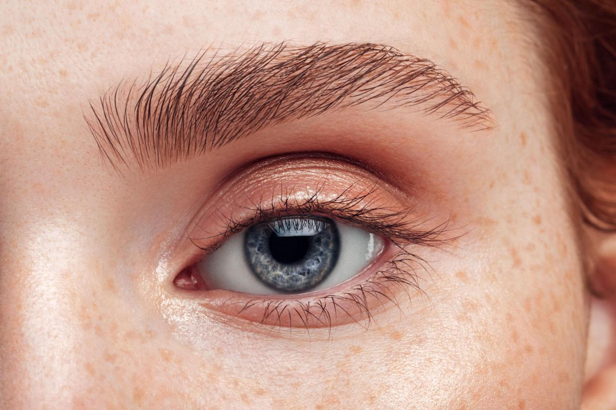 Full eyebrows are just a click away. (Photo: Getty)