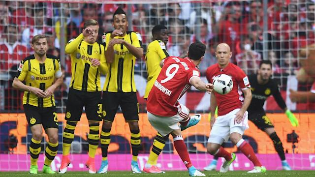 Borussia Dortmund's young side were swept aside by Bayern Munich, who won Der Klassiker with ease at the Allianz Arena.