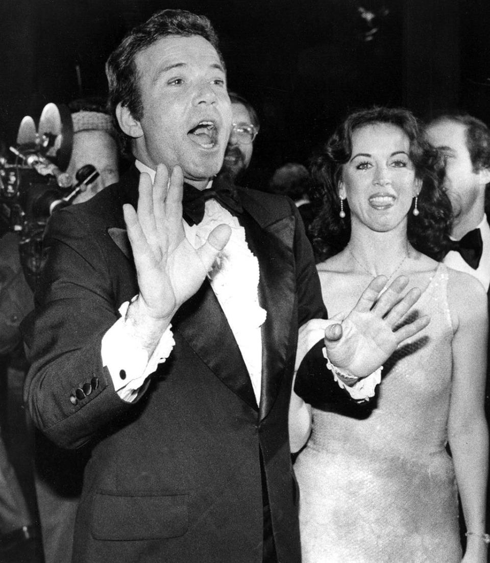 <p>William Shatner returns as Captain Kirk 10 years after the end of the original series. Here, he arrives at the movie's world premiere on Dec. 6, 1979, at the McArthur Theater in Washington, D.C. <i>(Photo: Dennis Cook/AP)</i></p>