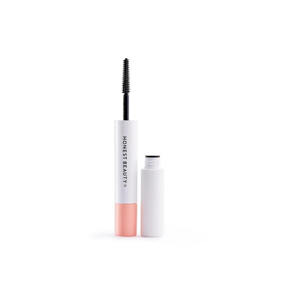 <p>We love a good multi-tasking product, like the <span>Honest Beauty Extreme Length Mascara + Lash Primer</span> ($17). It boosts volume and length with its clump-resistant formula.</p>