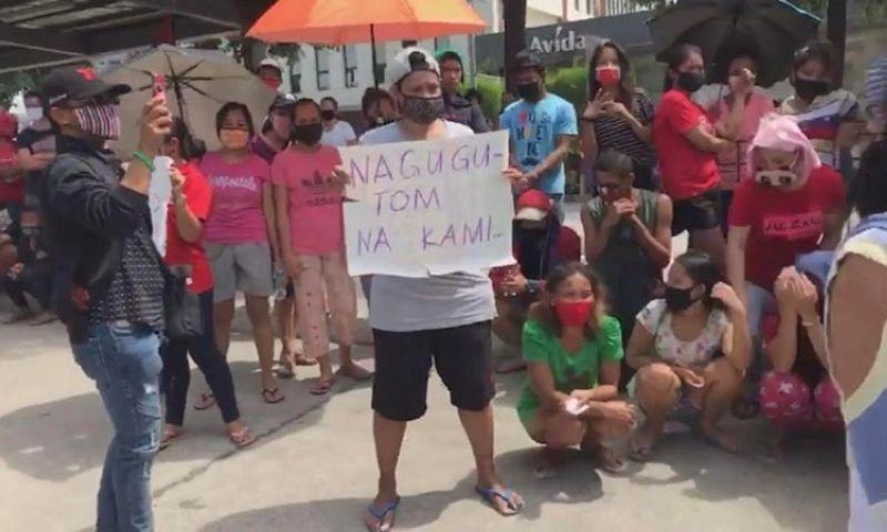 Villagers protest, demand release of promised aid
