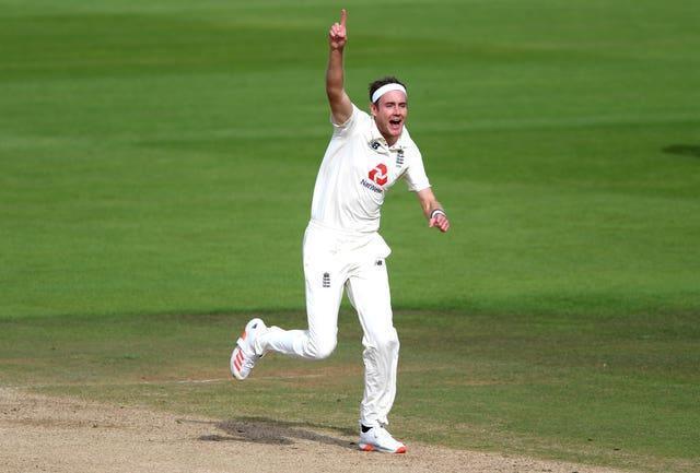 Stuart Broad, pictured, has taken Ross Taylor's wicket 10 times in Test cricket (Mike Hewitt/PA)
