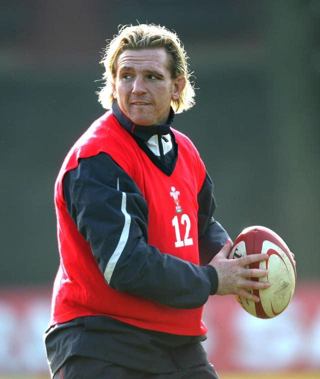 Alix Popham was a Grand Slam winner with Wales in 2008