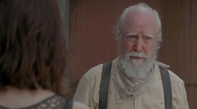 Scott Wilson as Hershel in in 'The Walking Dead' (Photo: AMC)
