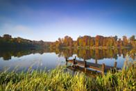 """<p><strong>Looks like: </strong>The Hamptons, US</p><p>The Cotswolds has previously been compared to The Hamptons based on the idea that both are used as weekend country getaways for the wealthy and well-heeled. However, Cotswold Water Park has more than a few physical similarities to the US luxury enclave, with 140 lakes and wetlands covering 40 bucolic square miles. Visit for the day or stay for a few nights in one of the beautiful lakeside lodges.</p><p><strong>Stay at:</strong> <a href=""""https://www.luxurycotswoldrentals.co.uk/properties/the-lake-house-lakes-by-yoo/"""" rel=""""nofollow noopener"""" target=""""_blank"""" data-ylk=""""slk:The Lake House,"""" class=""""link rapid-noclick-resp"""">The Lake House,</a> situated on the banks of Bowmore Lake in the centre of the 650 acres Lakes By Yoo estate close to the English market town of Lechlade on Thames.</p>"""