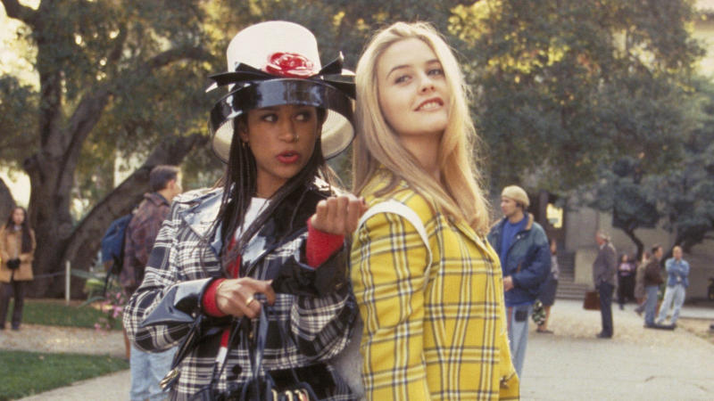 Stacey Dash and Alicia Silverstone in 'Clueless'. (Credit: Paramount)