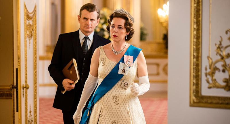 Olivia Colman as Queen Elizabeth II in The Crown S3. (Netflix)