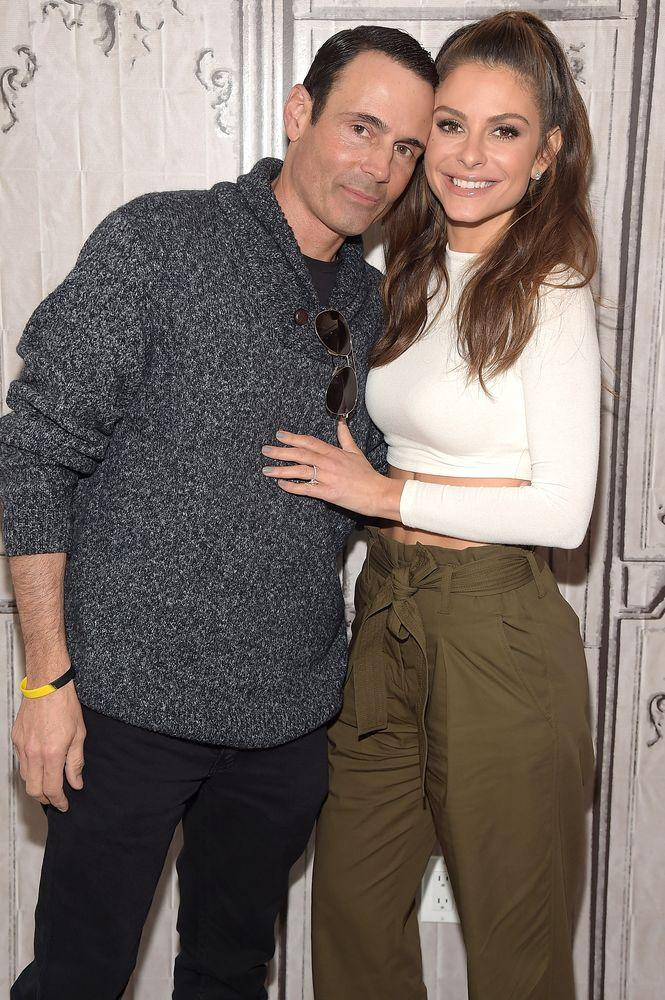 Kevin Undergaro and Maria Menounos