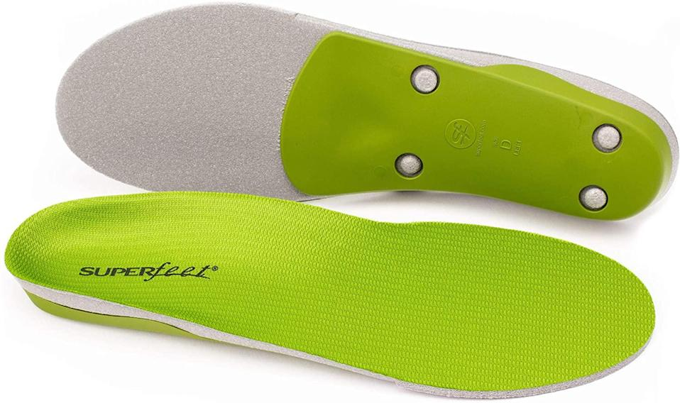These heavy-duty insoles are great for boots and sneakers. (Photo: Amazon)