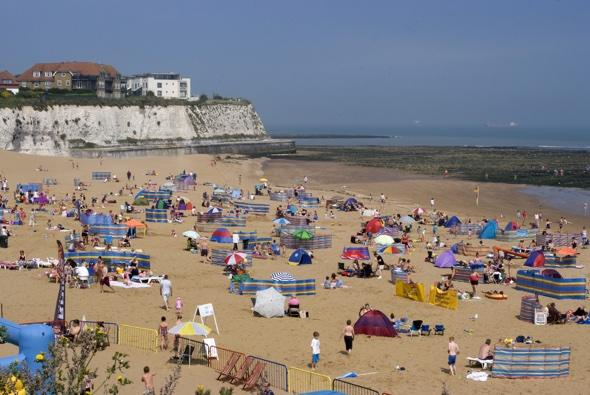 Teen rescued after being buried alive on Kent beach