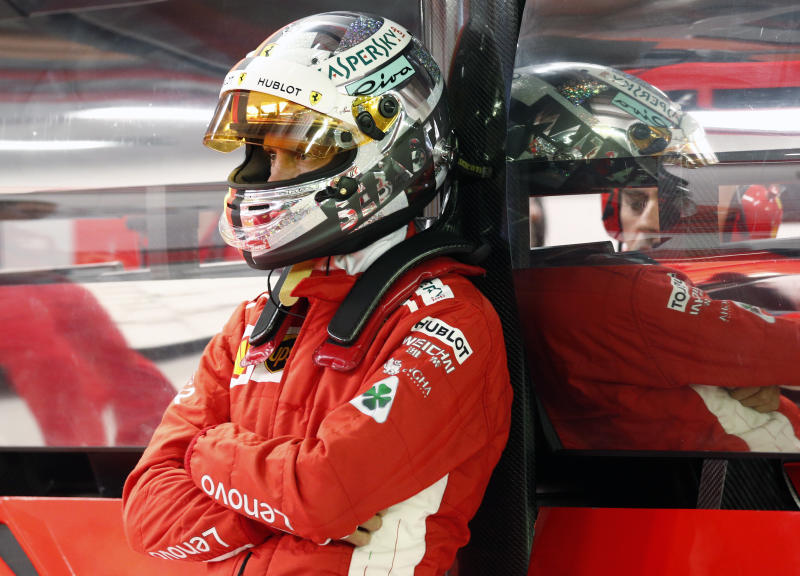 Vettel concerned by ferrari after losing pole to hamilton solutioingenieria Images