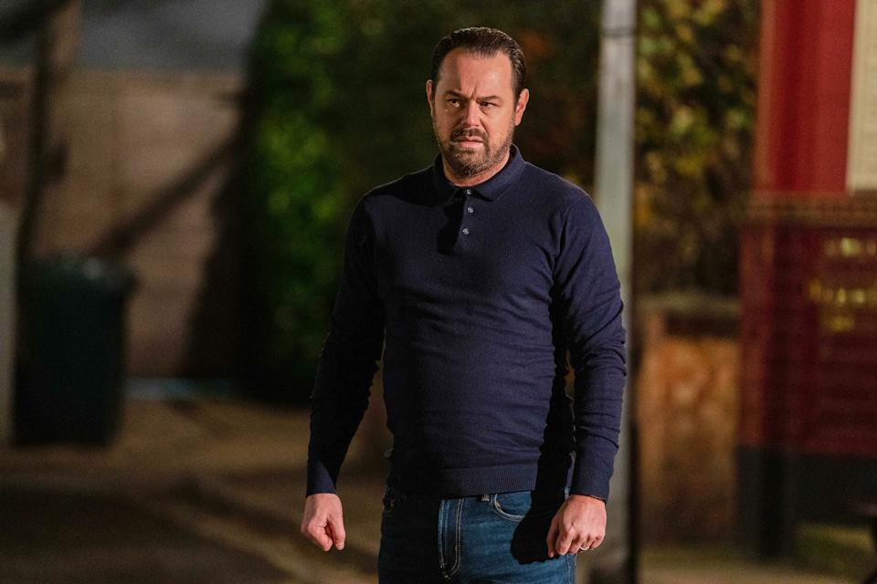 WARNING: Embargoed for publication until 00:00:01 on 26/01/2021 - Programme Name: EastEnders - January-March 2021 - TX: 02/02/2021 - Episode: EastEnders - January-March 2021- 6214 (No. 6214) - Picture Shows: ***EMBARGOED TILL TUESDAY 26TH JANUARY 2021*** Mick Carter (DANNY DYER) - (C) BBC - Photographer: Kieron McCarron/Jack Barnes