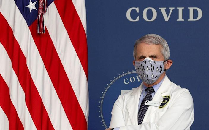 Dr. Anthony Fauci - JONATHAN ERNST/REUTERS