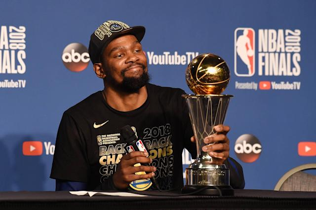 Kevin Durant Free Agency: Warriors Ready to Pay Finals MVP 'Whatever He Wants'
