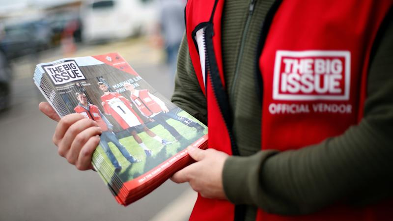 Big Issue's work helping sellers highlighted to mark World Homeless Day