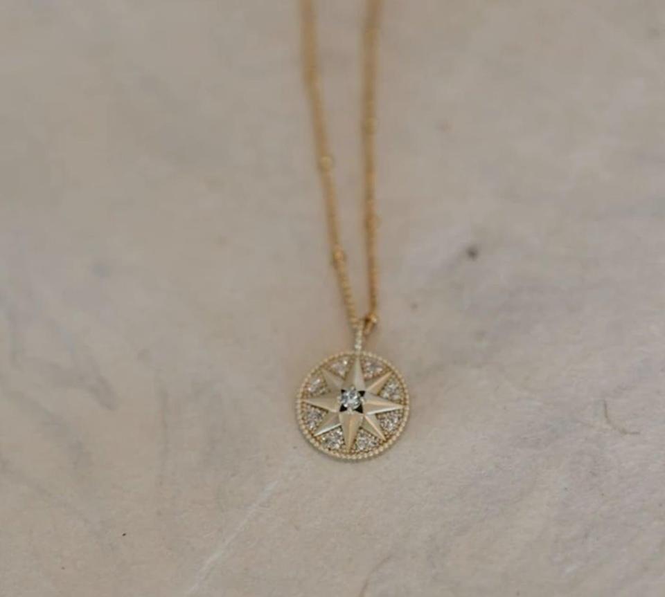 """<p><span>Stella & Haas Holiday Star Necklace</span> ($30)</p> <p>""""This delicate necklace is the perfect layering piece for your gold-loving BFF. I think the holiday star is perfect for New Year's Eve, but will be just as pretty in 2021 as well."""" - MCW </p>"""