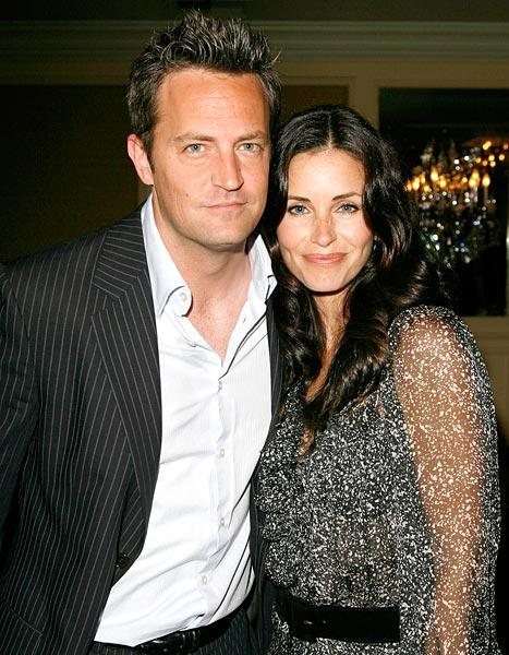 Matthew Perry to Reunite With His Friends Wife Courteney Cox on Cougar Town