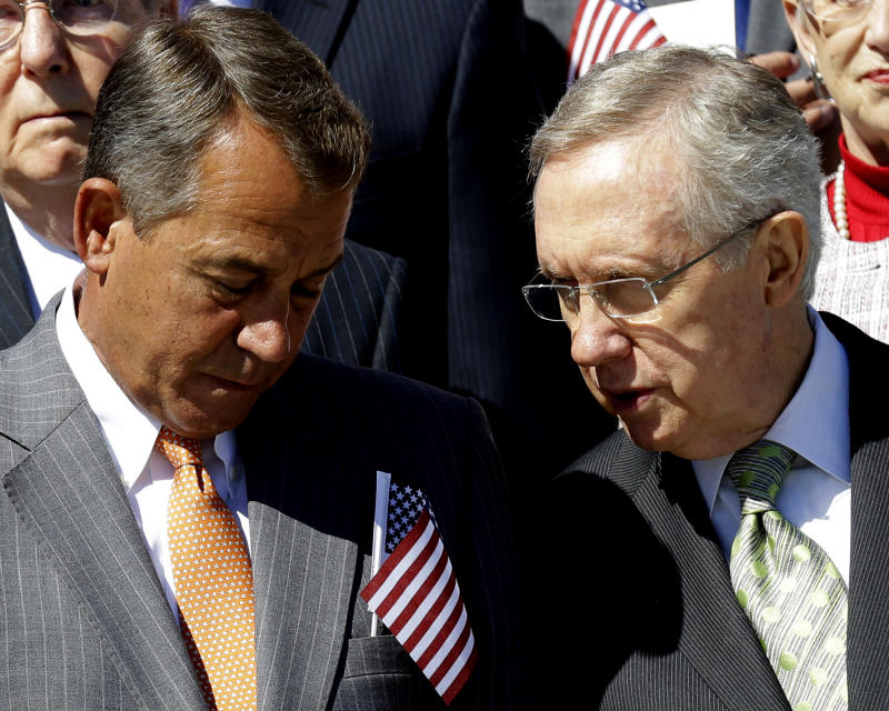 Gridlocked Congress already eying early getaway