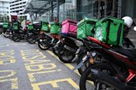 Many Malaysians make a living delivering food, medication and shopping by motorcycle, but wages can be low and hours gruelling