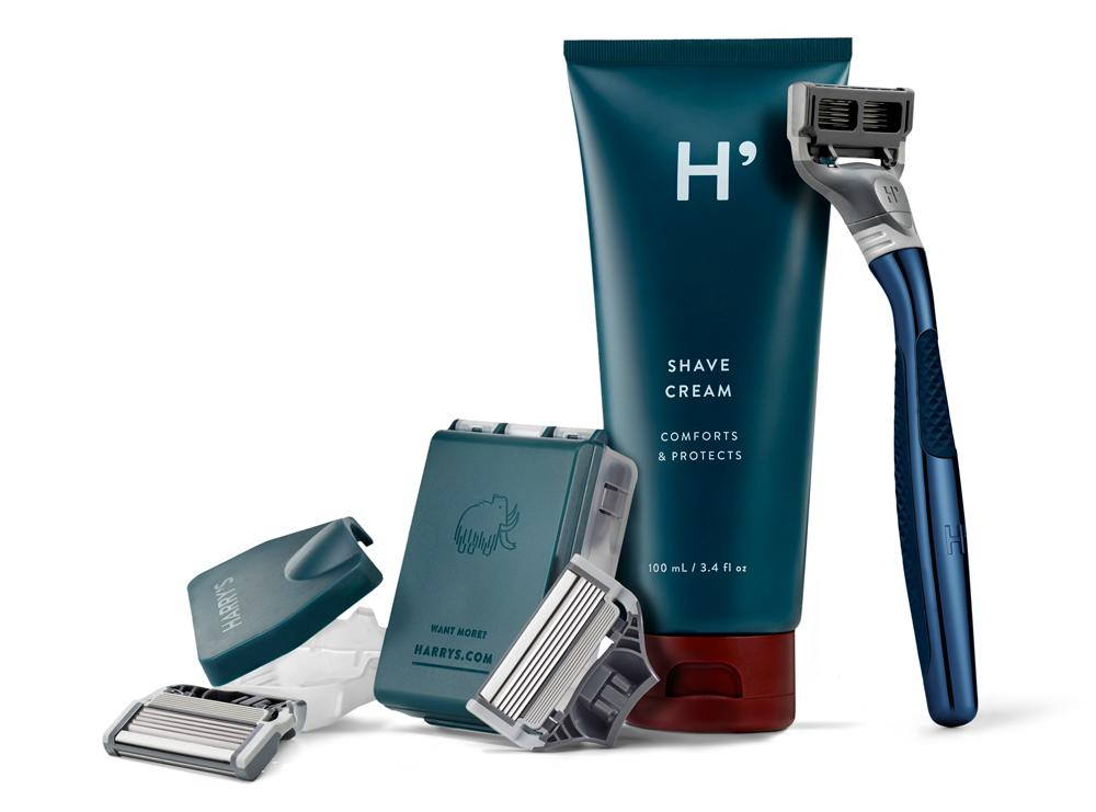 """<p>A gorgeous shave set is always a good idea, and when you think about how pricey razor blades are, you can be sure that crossing that off his grocery list will also be appreciated. This kit from Harry's includes a razor, shave gel, and replacement blades. Oh, and you also have the option of engraving the razor for an extra $15. </p> <p>$25 