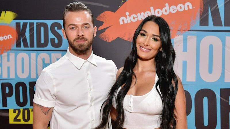 Nikki Bella and Artem Chigvintsev Release Sexy Dance Video to Announce They're Officially a Couple