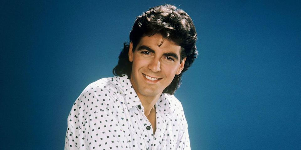"""<p>Not even a mullet could dampen George Clooney's appeal. The actor got his start on the small screen, playing handyman George Burnett on <em>The Facts of Life</em> and, more famously, as Dr. Doug Ross on <em>ER</em>, but quickly rose to Tinseltown royalty. Now, he bounces between acting and directing critical darlings (<em>The Descendants</em>, <em>Syriana</em>) and commercial blockbusters (the <em>Oceans</em> franchise) as easily as he does between the good life in Lake Como, where he spends much of his time with wife Amal, and Darfur, Sudan, where he has worked tirelessly to stop human rights atrocities. He's loved by seemingly all, including—or especially—Esquire, where <a href=""""https://www.esquire.com/entertainment/g1007/george-clooney-magazine-covers-121311/"""" rel=""""nofollow noopener"""" target=""""_blank"""" data-ylk=""""slk:he has graced our cover"""" class=""""link rapid-noclick-resp"""">he has graced our cover</a> nearly 10 times. Here are 40 photos that chronicle his rise. </p>"""