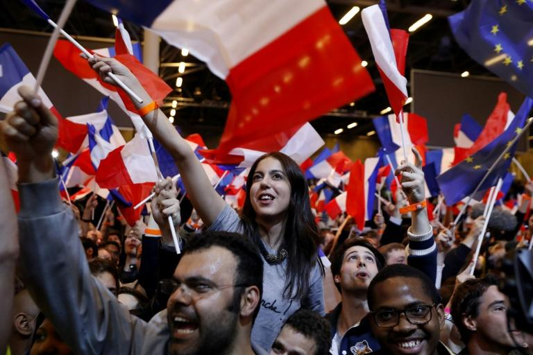 Emmanuel Macron, an ex-investment banker whose marriage to his former school teacher has fascinated France, will be the mainstream standard-bearer against Marine Le Pen in the run-off