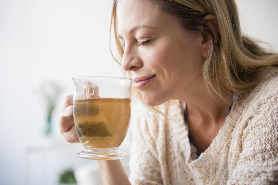 Start your day with tea and set yourself up for success. (Photo: Getty)