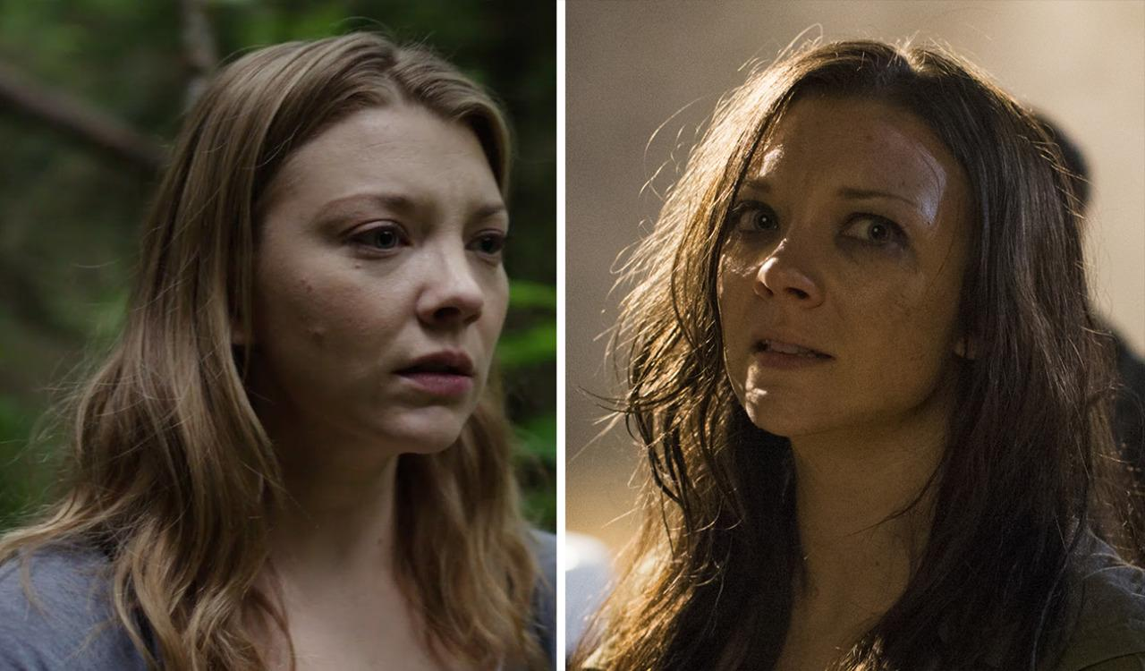 <p>Dormer plays Sara Price (left), an American woman who travels to a haunted Japanese forest to find for her twin sister Jess (right), who has gone missing. She's forced to wade through a woodland full of tormented souls during her emotionally charged quest. <i>(Photo: Gramercy Pictures/ <i>James Dittiger)</i></i><br /></p>