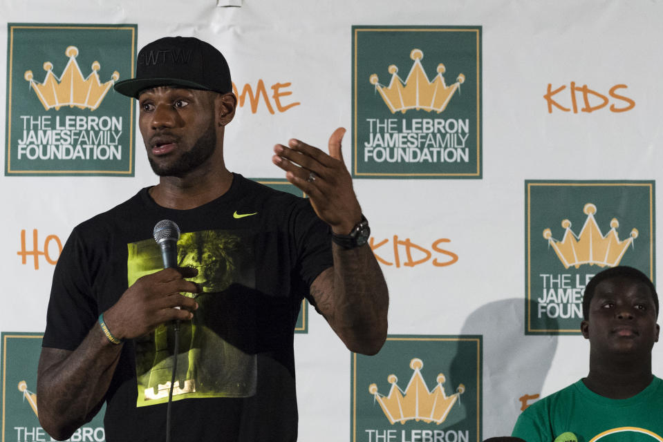 LeBron James has provided a roadmap for the NBA's next generation. (Getty Images)