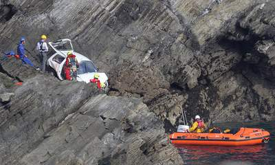Cornwall Cliff Death: Man's Car Falls 100ft