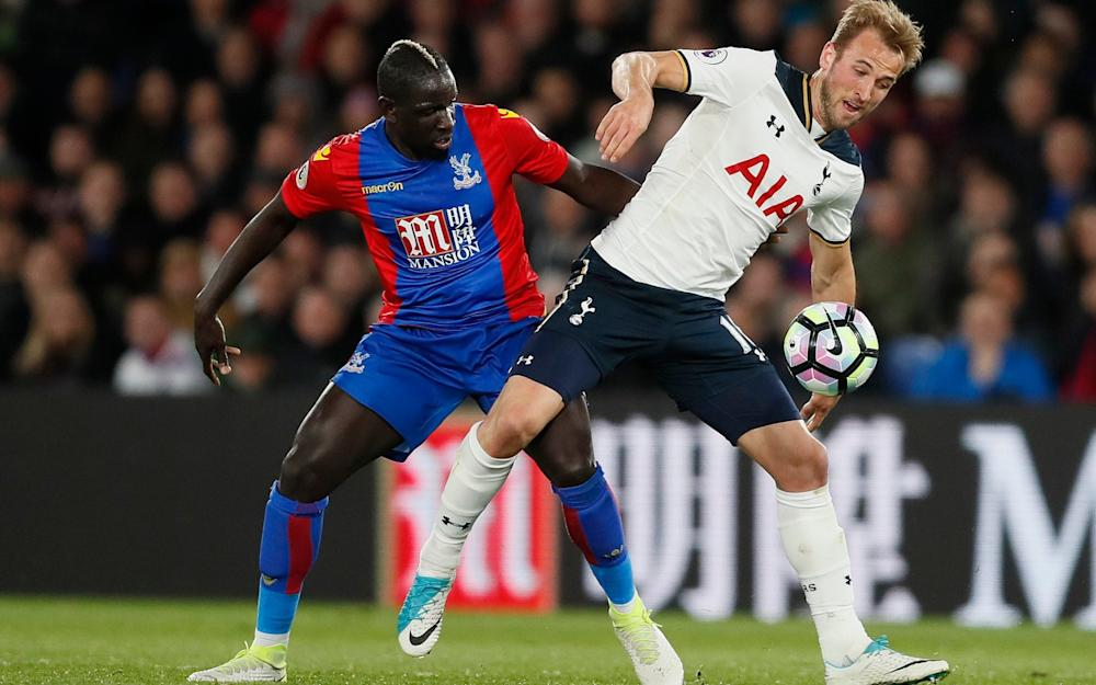 Mamadou Sakho and Harry Kane -How Mauricio Pochettino's tinkering saw Spurs get their title race back on course with victory over Crystal Palace - Credit: AP