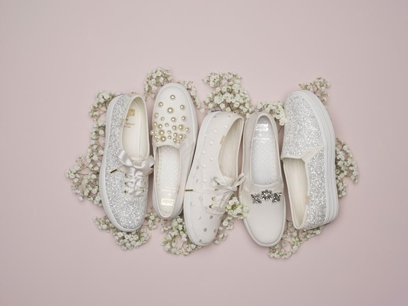 5c93996c943e Keds and Kate Spade Debut Wedding-Day Sneakers