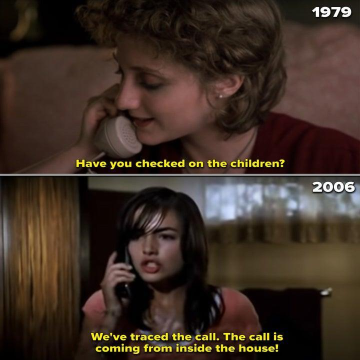 Side-by-sides of the babysitters in both