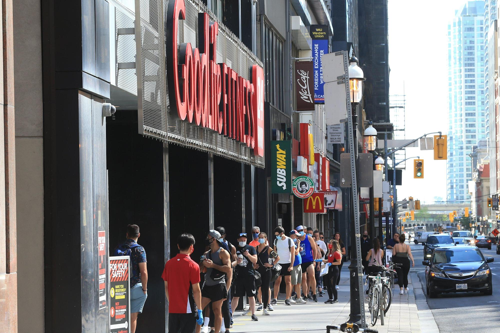 GoodLife Fitness defends email blast seeking re-opening - Yahoo! Voices
