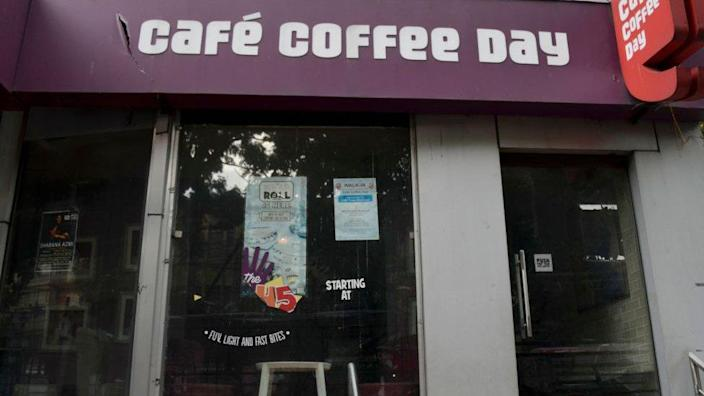 Cafe coffee day cafe