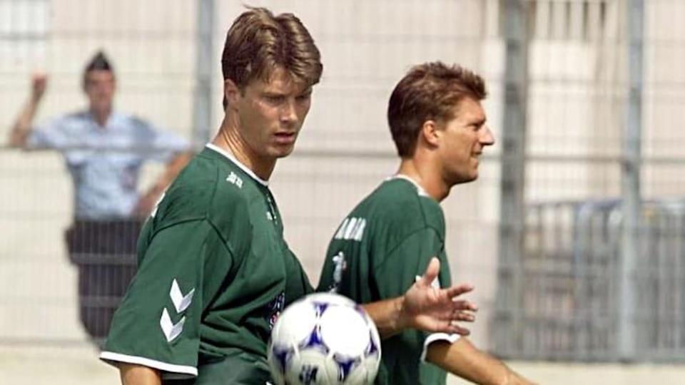 I fratelli Laudrup in allenamento | GEORGES GOBET/Getty Images
