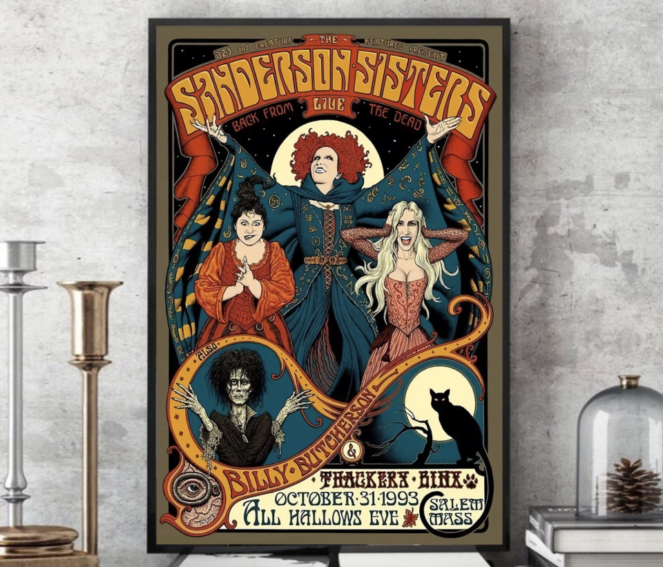 poster of The Sanderson Sisters Poster