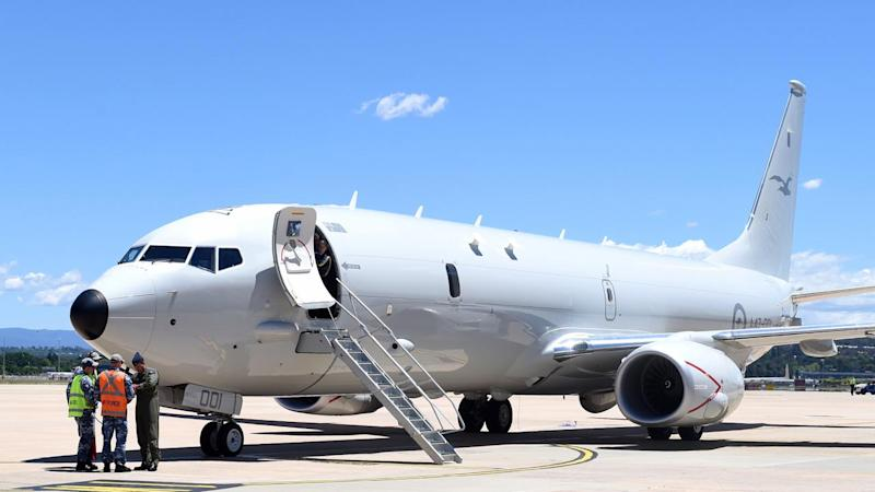 The first of the RAAF's new maritime surveillance aircraft will arrive in Adelaide on Friday.