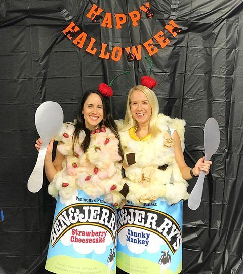 """<p>This costume is as amazing as Phish Food.</p><p><a class=""""link rapid-noclick-resp"""" href=""""https://www.amazon.com/Emraw-Lightweight-Presentations-Painting-Fluorescent/dp/B07RT792R6/?tag=syn-yahoo-20&ascsubtag=%5Bartid%7C1782.g.21763230%5Bsrc%7Cyahoo-us"""" rel=""""nofollow noopener"""" target=""""_blank"""" data-ylk=""""slk:BUY NOW"""">BUY NOW</a><strong><em> Light Blue Poster Board, $14, amazon.com</em></strong><br></p><p><a href=""""https://www.instagram.com/p/Ba31sK3lRrZ/?tagged=icecreamcostume"""" rel=""""nofollow noopener"""" target=""""_blank"""" data-ylk=""""slk:See the original post on Instagram"""" class=""""link rapid-noclick-resp"""">See the original post on Instagram</a></p>"""