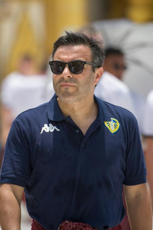"""Betting on Bielsa: Leeds United owner Andrea Radrizzani believes the club's wage bill would be """"unsustainable"""" if they fail to get promoted this season (AFP Photo/Ye Aung THU)"""