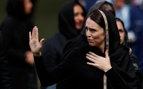 Jacinda Ardern announced a swift national crackdown on guns - Credit: REUTERS/Jorge Silva