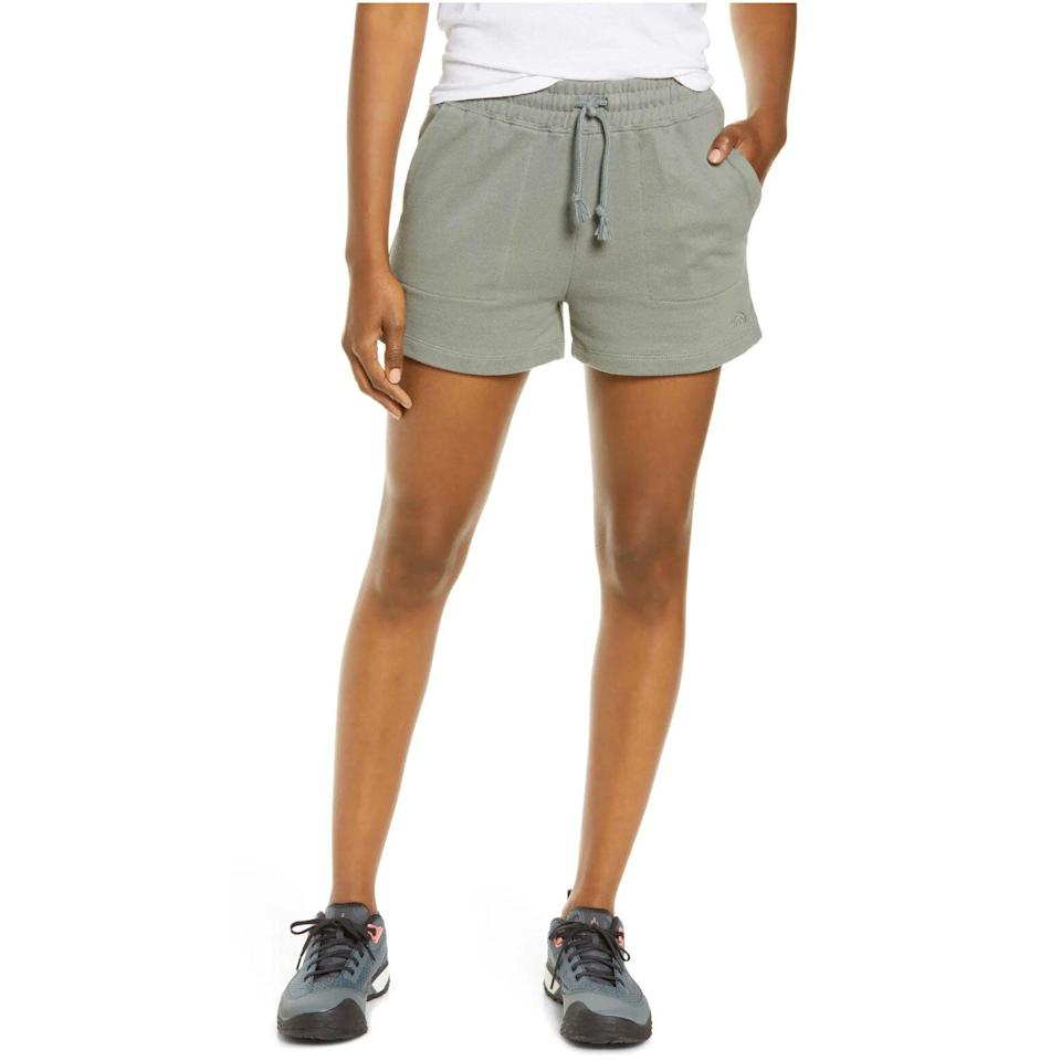 The North Face Camp High Waist French Terry Sweat Shorts