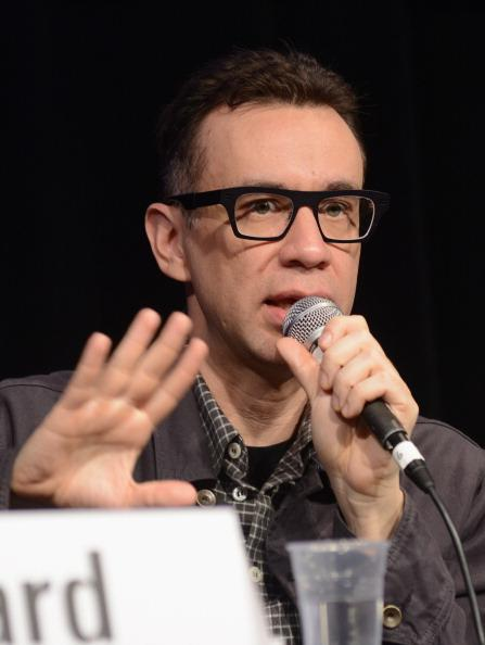 Actor/comedian Fred Armisen speaks onstage at Transitioning Alternative Comedy To TV during the 2013 SXSW Music, Film + Interactive Festival at Austin Convention Center on March 12, 2013 in Austin, Texas.
